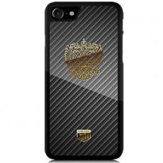 """Чехол Jumo Case для iPhone 7/8, карбон, никель с позолотой 24К, """"Герб РФ"""", фото 2"""