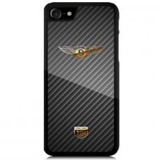 """Чехол Jumo Case для iPhone 7/8, карбон, никель с позолотой 24К, """"Bentley"""", фото 2"""