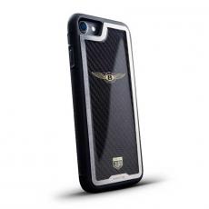"""Чехол Jumo Case для iPhone 7/8, карбон, стальная рамка, никель с позолотой 24К, """"Bentley"""", фото 1"""