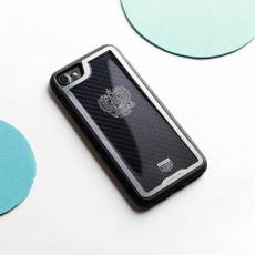 """Чехол Jumo Case для iPhone 7/8 карбон, стальная рамка, никель с посеребрением, """"Герб РФ"""", фото 2"""