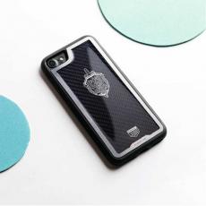 """Чехол Jumo Case для iPhone 7/8 карбон, стальная рамка, никель с посеребрением, """"Герб ФСБ"""", фото 2"""
