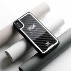 """Чехол Jumo Case для iPhone X карбон, стальная рамка, никель с посеребрением, """"Cadillac"""", фото 3"""
