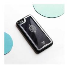 """Чехол Jumo Case для iPhone 7/8 Plus карбон, стальная рамка, никель с посеребрением, """"Герб ФСБ"""", фото 2"""