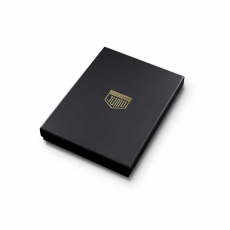 """Чехол Jumo Case для iPhone X карбон, рамка из латуни, кожа крокодила, никель с позолотой 24К, """"Герб РФ"""", фото 5"""