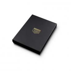 """Чехол Jumo Case для iPhone 7/8 карбон, рамка из латуни, натуральная кожа Dakota, никель с позолотой 24К, """"Герб РФ"""", фото 5"""