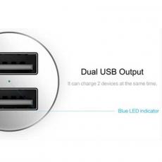Автомобильное зарядное устройство Rock Sitor Plus Car Charger, 2 USB-A, 2.4A, чёрный, фото 2