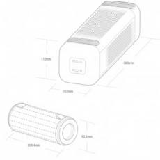 Автомобильный очиститель воздуха Xiaomi MiJia Car Air Purifier, черный, фото 3