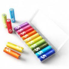 Батарейки Xiaomi Rainbow AA, 10шт, фото 2