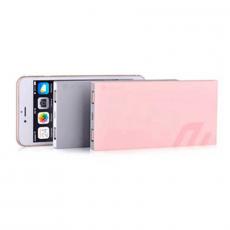 Внешний аккумулятор Devia Slimbox, 2 USB-A, 9000 mAh, розовый, фото 2