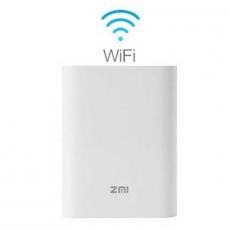 Внешний аккумулятор ZMI 7800 мАч с 4G модемом, белый, фото 1