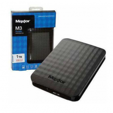 Внешний накопитель Seagate Maxtor M3, с USB-A (3.0), 1 ТБ, чёрный, фото 3