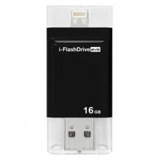 Флеш-накопитель Photofast i-Flashdrive EVO Plus, USB-A, Lighting, MicroUSB, 16 Гб, чёрный, фото 2