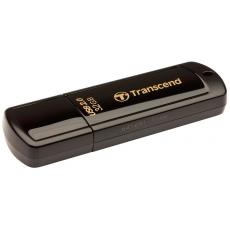 Внешний накопитель Transcend JetFlash 350, 32 Гб, USB 2.0, черный, фото 1