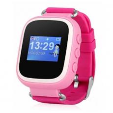 Детские часы-телефон водонепроницаемые Wonlex Baby Watch GW100s, розовые, фото 1