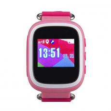 Детские часы-телефон водонепроницаемые Wonlex Baby Watch GW100s, розовые, фото 2
