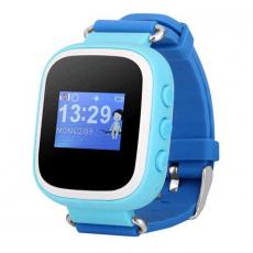 Детские часы-телефон водонепроницаемые Wonlex Baby Watch GW100s, синие, фото 1