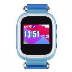 Детские часы-телефон водонепроницаемые Wonlex Baby Watch GW100s, синие, фото 2