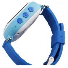 Детские часы-телефон водонепроницаемые Wonlex Baby Watch GW100s, синие, фото 3
