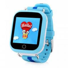 Детские часы-телефон водонепроницаемые Wonlex Baby Watch GW200s, синие, фото 1