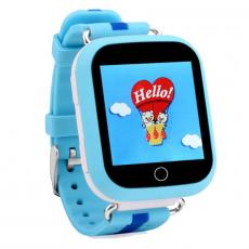 Детские часы-телефон водонепроницаемые Wonlex Baby Watch GW200s, синие, фото 2