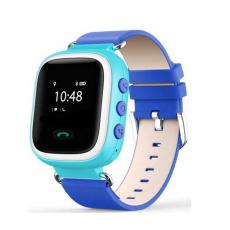 Детские часы-телефон Wonlex Baby Watch Q80, голубые, фото 1