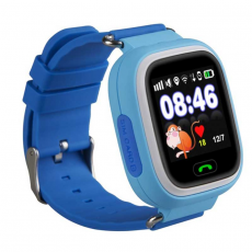 Детские часы-телефон Wonlex Baby Watch Q80, голубые, фото 2