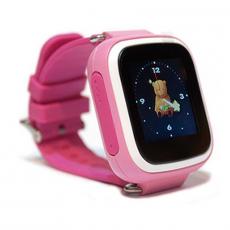 Детские часы-телефон Wonlex Baby Watch Q80, розовые, фото 1