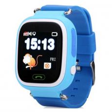 Детские часы-телефон Wonlex Baby Watch Q90S, голубые, фото 1