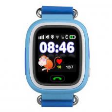 Детские часы-телефон Wonlex Baby Watch Q90S, голубые, фото 2