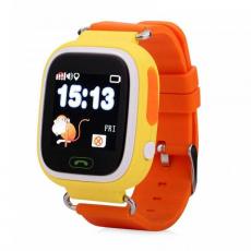 Детские часы-телефон Wonlex Baby Watch Q90S, желтые, фото 1