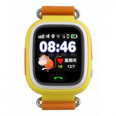 Детские часы-телефон Wonlex Baby Watch Q90S, желтые, фото 2