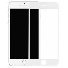 Защитное стекло 3D 9H Glass PRO для iPhone 7/8, белый, фото 1