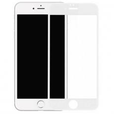 Защитное стекло 3D 9H Glass PRO для iPhone 6/6S Plus, белый, фото 1