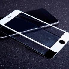 Защитное стекло 3D 9H Glass PRO для iPhone 6/6S Plus, чёрный, фото 3