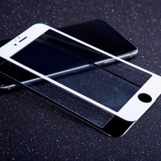 Защитное стекло 3D 9H Glass PRO для iPhone 6/6S Plus, белый, фото 3