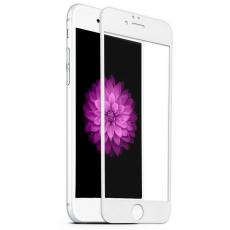 Защитное стекло 3D 9H Glass PRO для iPhone 6/6S, белый, фото 1