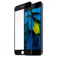 Защитное стекло Baseus Tempered Glass Film Silk-screen 0.2mm для iPhone 7 и 8 Plus, чёрный, фото 1