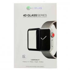 Защитное стекло COTEetCI N0.13 для Apple Watch 42mm, 4D GLASS 0.1мм, фото 1