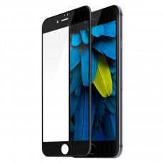 Защитное стекло Devia Jade 2 Full Screen Tempered Glass для iPhone 7 и 8, чёрное, фото 1