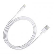 Кабель Apple, с USB-A на Lightning, 3 метра, не оригинал, белый, фото 1