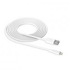 Кабель Apple, с USB-A на Lightning, 3 метра, не оригинал, белый, фото 3