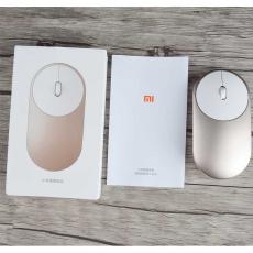 Мышь беспроводная Xiaomi Mi Portable Mouse, золотая, фото 3