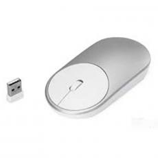 Мышь беспроводная Xiaomi Mi Portable Mouse, серебристая, фото 1