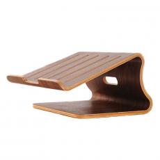 Подставка Samdi Wood Stand Holder для Macbook, темное дерево, фото 1