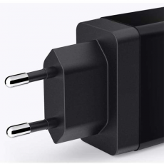 Сетевое зарядное устройство Anker 2 USB, 24W, 4.8A, черное, фото 2