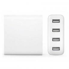 Сетевое зарядное устройство Xiaomi Mi, 4 USB-A, 2A, белый, фото 1