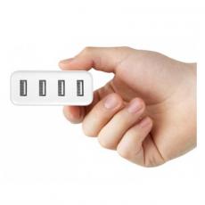 Сетевое зарядное устройство Xiaomi Mi, 4 USB-A, 2A, белый, фото 3