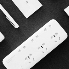 Сетевой адаптер Xiaomi Mi Power Strip 6 Sockets with Wi-Fi, белый, фото 2