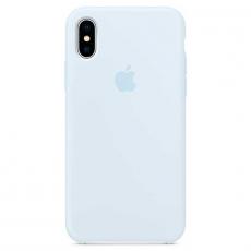 Силиконовый чехол для iPhone X, цвет «голубое небо», фото 1