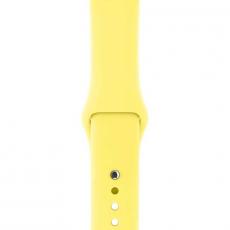 """Ремешок Apple Pollen спортивный для Apple Watch 42 мм, """"ярко-жёлтый неон"""", фото 2"""